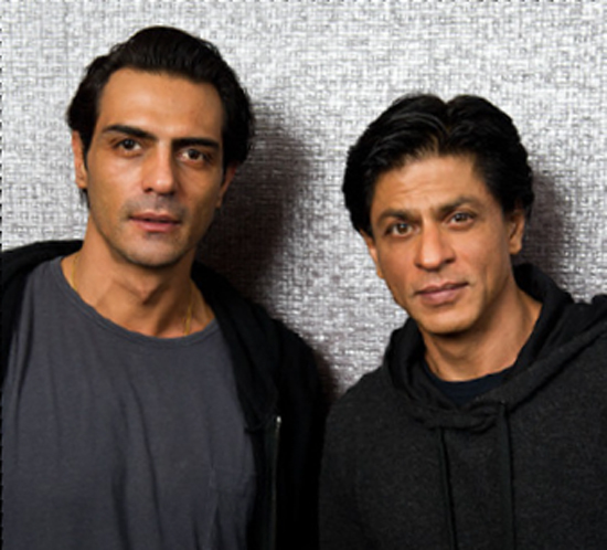 Arjun and SRK