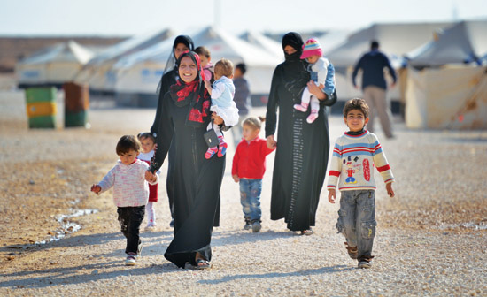 UAE offers aid to Syrian refugees