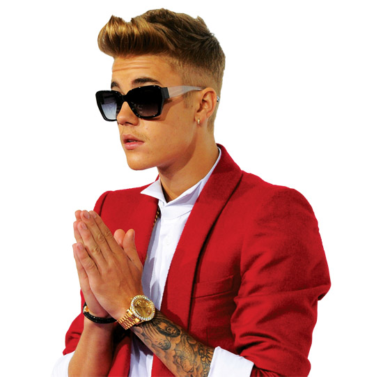 Bieber on a mission