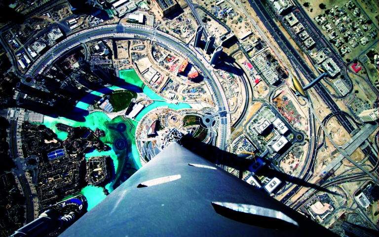 burj from top