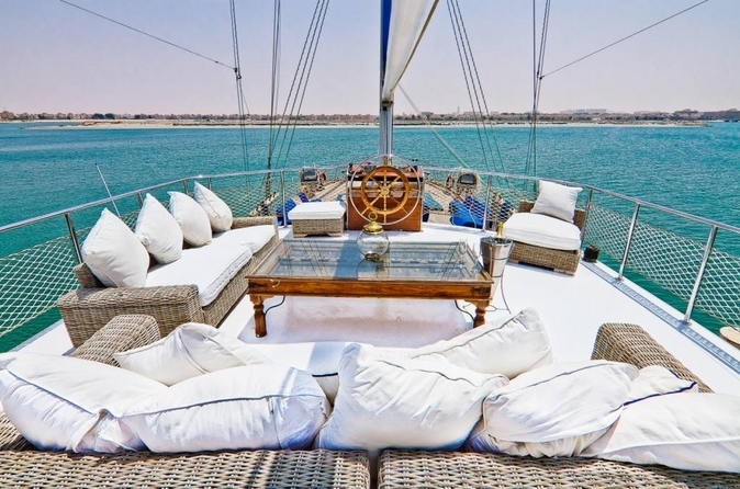 Cruise the coast of Dubai on a luxury yacht