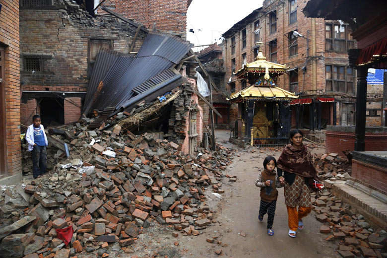 Nepal earthquake strikes again