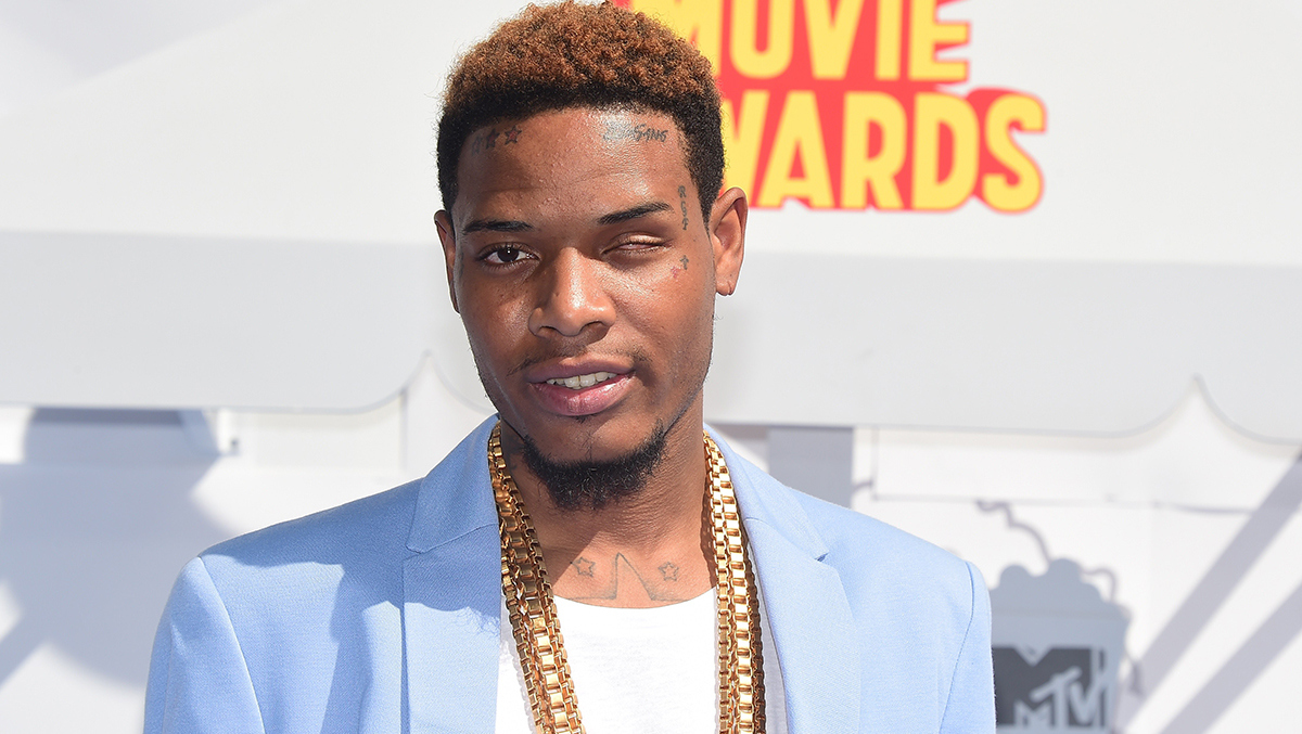 Fetty Wap in a motorcycle accident